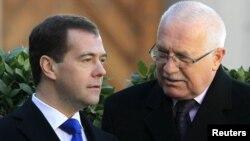 Дмитри Медведев, Вацлав Клаус