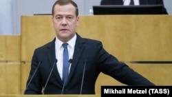 Премьер-министра России Дмитрий Медведев