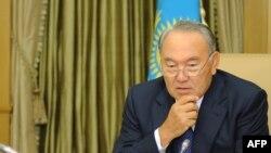 Қазақстан президенті Нұрсұлтан Назарбаев. Астана, 12 қыркүйек 2013 жыл