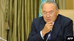Президент Казахстана Нурсултан Назарбаев. Астана, 12 сентября 2013 года.