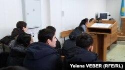 На судебном процессе в городском суде Темиртау. Иллюстративное фото.