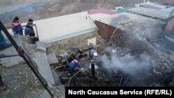Жители села, полностью утратившие свое имущество во время пожара, получат помощь в размере 100 тысяч рублей
