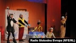 Претстава во детскиот театар во Битола