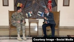 Afghan Chief Executive Officer Abdullah Abdullah met with General Joseph Votel, U.S. commander, in Kabul on Jan 18.