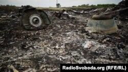 Місце падіння Боїнга, 18 липня 2014 року