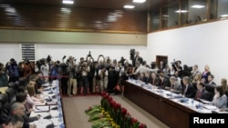 Переговоры в Гаване, 21 января 2015