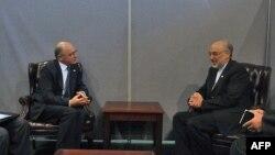 Аргентинський і іранський міністри закордонних справ Ектор Тимерман та Алі Акбар Салехі