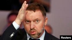 Russian tycoon Oleg Deripaska in 2015