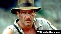 هریسون فورد در یکی از فیلمهای «ایندیانا جونز»