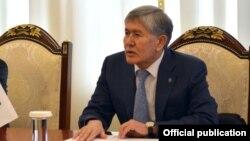 Бывший президент Кыргызстана Алмазбек Атамбаев.