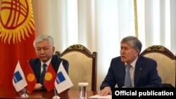 Встреча Алмазбека Атамбаева с депутатами СДПК, 16 апреля 2018 г.