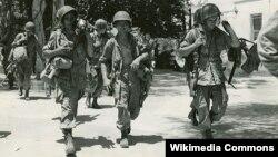 Солдаты 504-го парашютно-десантного полка на Сицилии. Июль 1943 года
