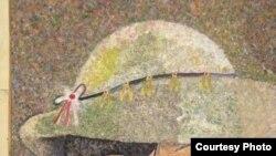 لوحة للفنانة سرماوز