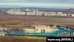 Строительство станции ведется в городской черте