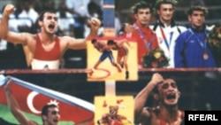 Olimpiya çempionu Fərid Mansurov, Afina -2004