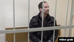 Ільдар Дадін на одному із засідань суду