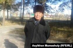 Ахметсафар Кадирбай, житель села Койлык. 29 ноября 2013 года.