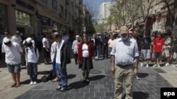 Dvominutno ćutanje na ulicama Jerusalima