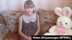 Александра Әкімбаева, Макинск, Ақмола облысы, 18 тамыз 2013 жыл.