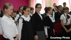 Актаныш һуманитар гимназия-интернаты укучылары
