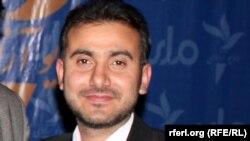 Afghanistan -- Radio Free Afghanistan Pashto editor Ahmad Zubair Zhman.