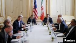 Sekretari amerikan i Shtetit John Kerry është takuar sot me ministrin e Jashtëm të Iranit Mohammad Javad Zarif