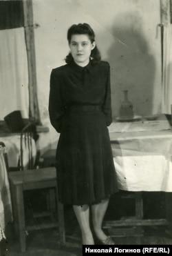 Екатерина Стрельцова (Карпова). 1940-е годы