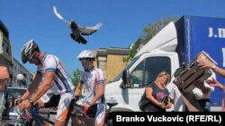 Startovao biciklistički maraton Kragujevac - Mostar