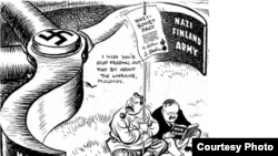 Caricatură de Leslie Illingworth, Daily Mail, 1941