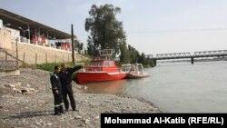 ارتفاع منسوب مياه دجلة في الموصل