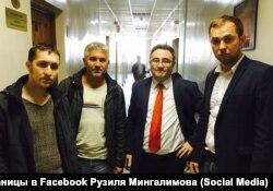 Ильмир Шакуров и Андрей Чванов слева
