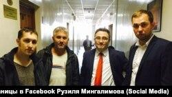 Ильмир Шакуров (слева)