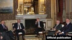 E. Məmmədyarov Minsk Qrupunun həmsədrləri ilə görüşü