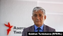 Сагынбек Абдрахманов.