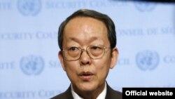 وانگ گیانگیا سفیر چین در سازمان ملل متحد که به قطعنامه تحریم ایران رای مثبت داد
