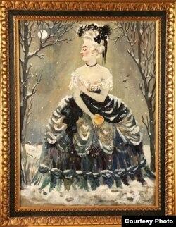 Н. П. Ульянов. Зимняя красавица, 1904, собрание Сергея Григорьянца