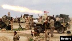 خلال معارك ضارية في محافظة صلاح الدين، 4 آذار 2015