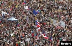 Praga, protest împotriva premierului ceh Andrej Babis, 23 iunie 2019