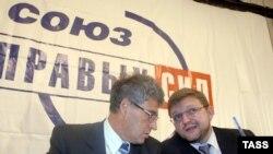 На съезде в Москве лидеры СПС утверждают программу, с которой партия пойдет на выборы-2007