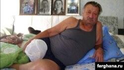 Afsonaviy bokschi Rufat Risqiev jarrohlik amaliyotidan so'ng.