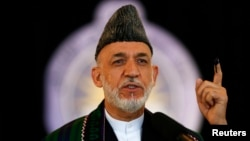 """Afghan President Hamid Karzai in the past has often used the term """"foreign interests"""" to describe Pakistan without specifically naming the country."""