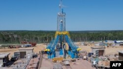 Строительство космодрома Восточный (архивное фото)