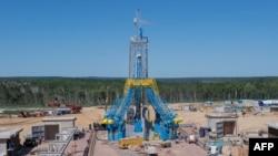 Строительство космодрома Восточный на Дальнем Востоке России. Июль 2014 года.