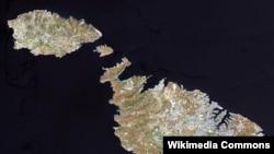 Malta, vedere din satelit