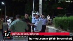 Suriyalı və türkiyəli gənclər arasında qarşıdurma, 8 iyul, 2016 (Konya, Türkiyə)