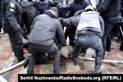 Сутички біля Верховної Ради. Київ, 16 січня 2018 року
