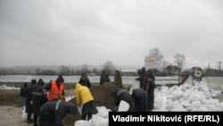 Ликвидация последствий наводнения в Чачаке