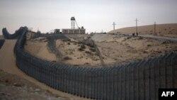 Kufiri Egjipt - Izrael, në Sinai