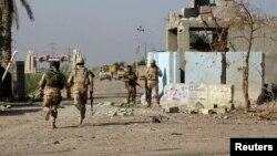 قوات عراقية في الرمادي