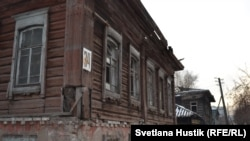 Так выглядел самый старый дом Красноярска в январе 2018 года